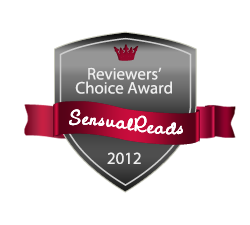2012 Sensual Reads Reviewers' Choice Award