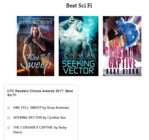 Best SciFi Romance Of 2017